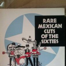 Discos de vinilo: RARE MEXICAN CUTS OF THE SIXTIES 1982 EVA RECORDS. Lote 262070695