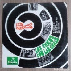 Discos de vinilo: MUSICA, DISCO VINILO SINGLE, LOS BRAVOS - LOS CHICOS CON LA CHICAS - COLUMBIA. Lote 262072535