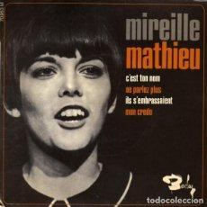 Discos de vinilo: MIREILLE MATHIEU – C'EST TON NOM. Lote 262075500
