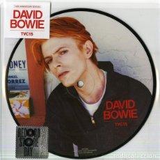 """Discos de vinilo: DAVID BOWIE """" TVC15 """" VINYL '7 PICTUREDISC. Lote 262085985"""