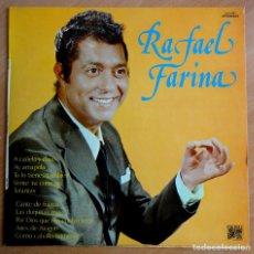 Discos de vinilo: LP VINILO. RAFAEL FARINA (CAUDAL, 1976). Lote 262089795