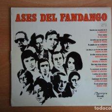 Discos de vinilo: LP VINILO. ASES DEL FANDANGO Nº 2 (OLYMPO, 1975). Lote 262091030