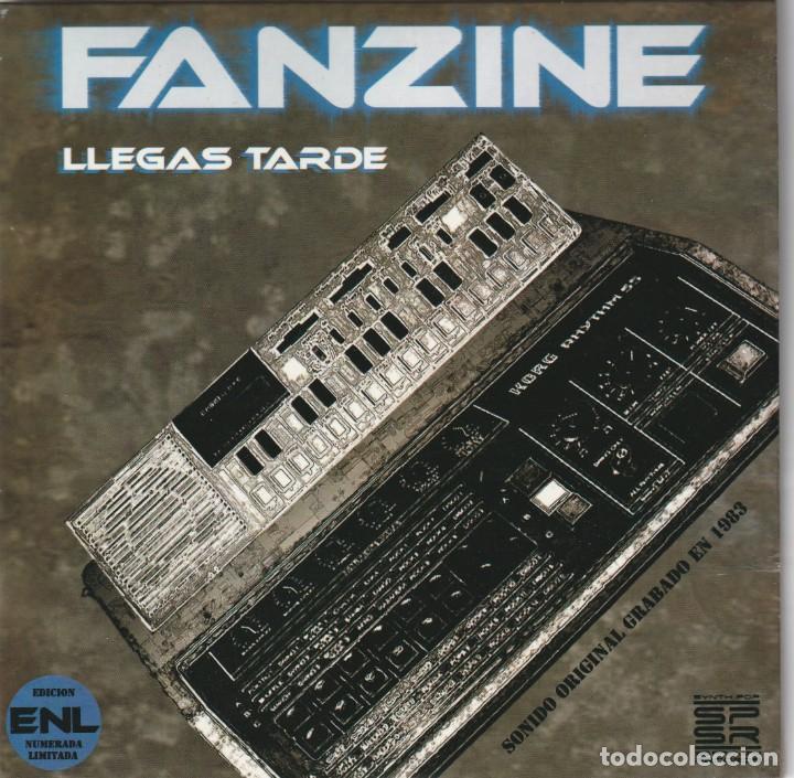 FANZINE - LLEGAS TARDE (EP SYNTH POP SPAIN RECORDS 2008) (Música - Discos de Vinilo - EPs - Grupos Españoles de los 70 y 80)