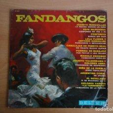 Discos de vinilo: LP VINILO. FANDANGOS (BELTER 1966). Lote 262091535