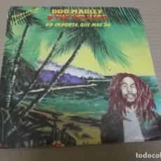 Discos de vinilo: BOB MARLEY & THE WAILERS (SINGLE) THREE LITTLE BIRDS AÑO 1980. Lote 262093105