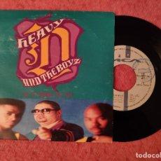 "Discos de vinilo: 7"" HEAVY D AND THE BOYZ - IS IT GOOD TO YOU - MCA 1A MCS-17839 SPAIN (EX-/EX++). Lote 262093280"