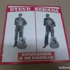 Discos de vinilo: STEVE KEKANA (SINGLE) RAISING MY FAMILY AÑO 1981. Lote 262093515
