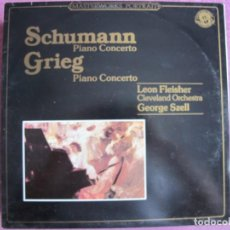 Dischi in vinile: LP - SCHUMANN / GRIEG - PIANO CONCERTO (LEON FLEISHER, PIANO-CLEVELAND ORCHESTRA, DR. SZELL). Lote 262093995