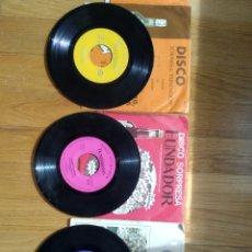 Discos de vinilo: LOTE DISCOS SORPRESA FUNDADOR 1962/1970 Y REGALO DISCO VILLANCICO GONZÁLEZ BYASS. Lote 262095905