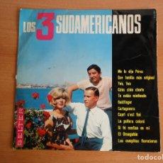Discos de vinilo: LP VINILO. LOS 3 SUDAMERICANOS (BELTER, 1966) ME LO DIJO PEREZ + 11. Lote 262097870