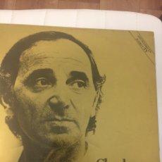 Discos de vinilo: DISCO LP CHARLES AZNAVOUR ORO EDICIÓN BARCLAY. Lote 262098055