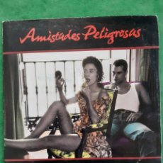 """Discos de vinilo: SINGLE PROMOCIONAL """"ESTOY POR TI"""" DE AMISTADES PELIGROSAS. Lote 262098170"""