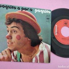 Discos de vinilo: LOS HERMANOS MALASOMBRA / POQUITO- SINGLE. LOS CHIRIPITIFLÁUTICOS.. Lote 262098460