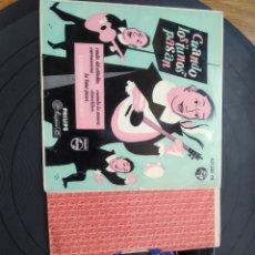 Discos de vinilo: CUANDO LOS TUNOS PASAN ESTUDIANTINA DE MADRID PHILIPS 1960. Lote 262099005