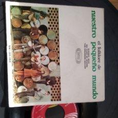 Discos de vinilo: EL FOLKLORE DE NUESTRO PEQUEÑO MUNDO SONOPLAY 1968. Lote 262100965