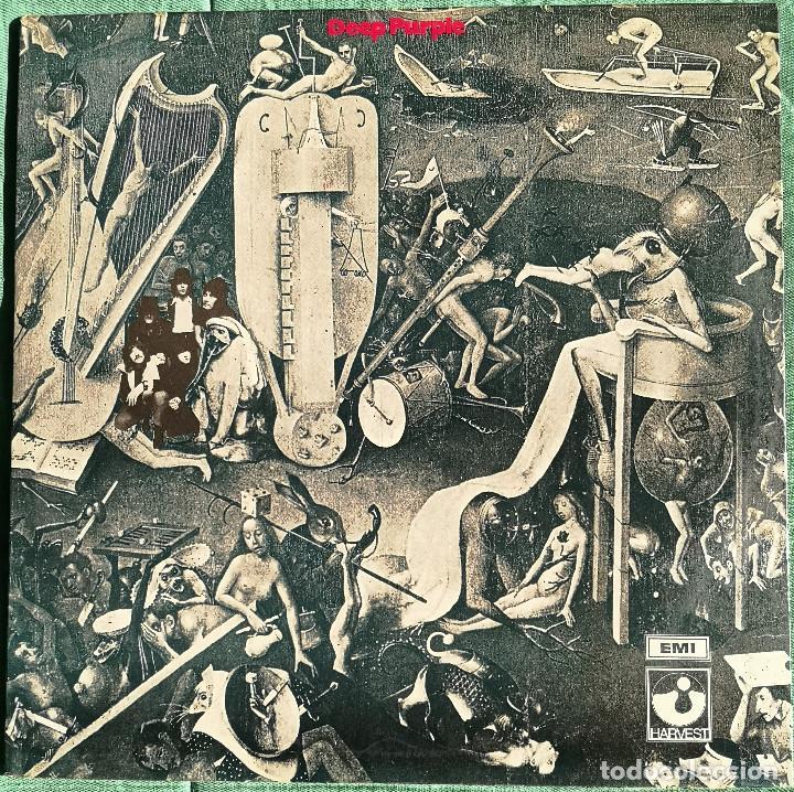 VINILO LP - DEEP PURPLE - DEEP PURPLE - MADE IN UK - 1969 - GATEFOLD - 1RA EDICION MUNDIAL (Música - Discos - LP Vinilo - Pop - Rock Internacional de los 50 y 60)