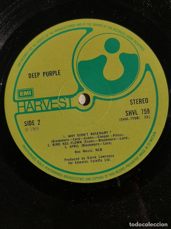 Discos de vinilo: VINILO LP - DEEP PURPLE - DEEP PURPLE - MADE IN UK - 1969 - GATEFOLD - 1ra EDICION MUNDIAL - Foto 7 - 262102375
