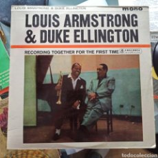 Discos de vinilo: LOUIS ARMSTRONG & DUKE ELLINGTON - RECORDING TOGETHER FOR THE FIRST TIME (COLUMBIA, UK, 1961). Lote 262103350