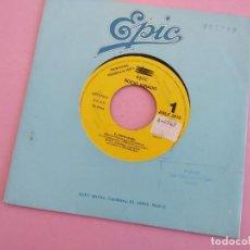 Discos de vinilo: ROCIO JURADO -EL AMOR ACABA -SINGLE PROMO 1991 -GRABADO POR UNA SOLA CARA. Lote 262103440