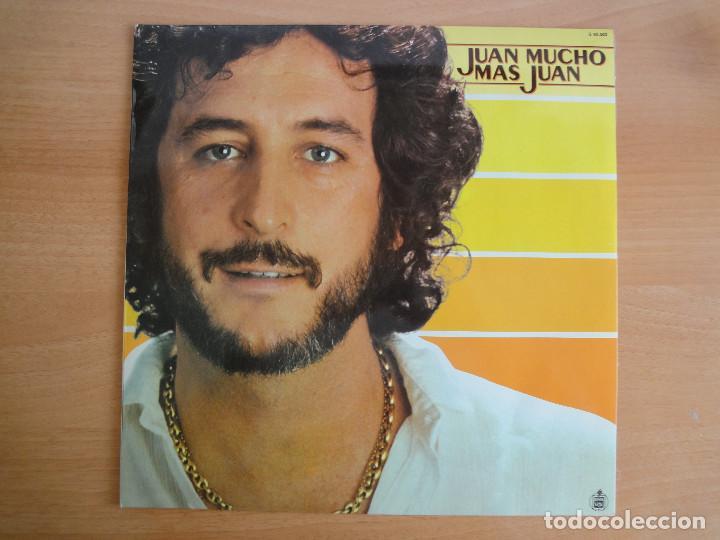 LP VINILO. JUAN PARDO. JUAN MUCHO MÁS JUAN (HISPAVOX 1980) (Música - Discos - LP Vinilo - Cantautores Españoles)
