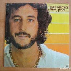 Discos de vinilo: LP VINILO. JUAN PARDO. JUAN MUCHO MÁS JUAN (HISPAVOX 1980). Lote 262103495