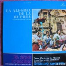 Discos de vinilo: LP - LA ALEGRIA DE LA HUERTA / EL CABO PRIMERO (SPAIN, COLUMBIA 1960, VER FOTO ADJUNTA). Lote 262103995
