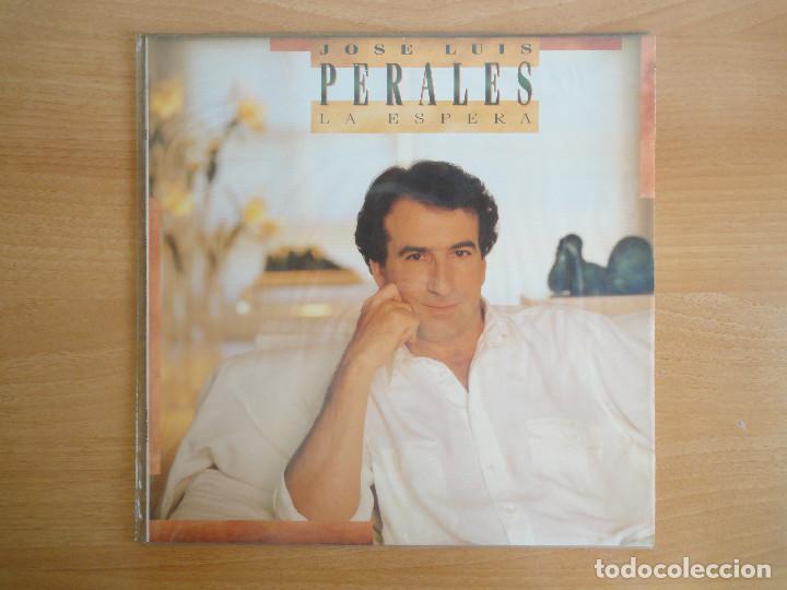 LP VINILO. JOSÉ LUIS PERALES. LA ESPERA (CBS 1988) (Música - Discos - LP Vinilo - Cantautores Españoles)