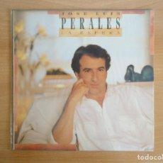 Discos de vinilo: LP VINILO. JOSÉ LUIS PERALES. LA ESPERA (CBS 1988). Lote 262104025