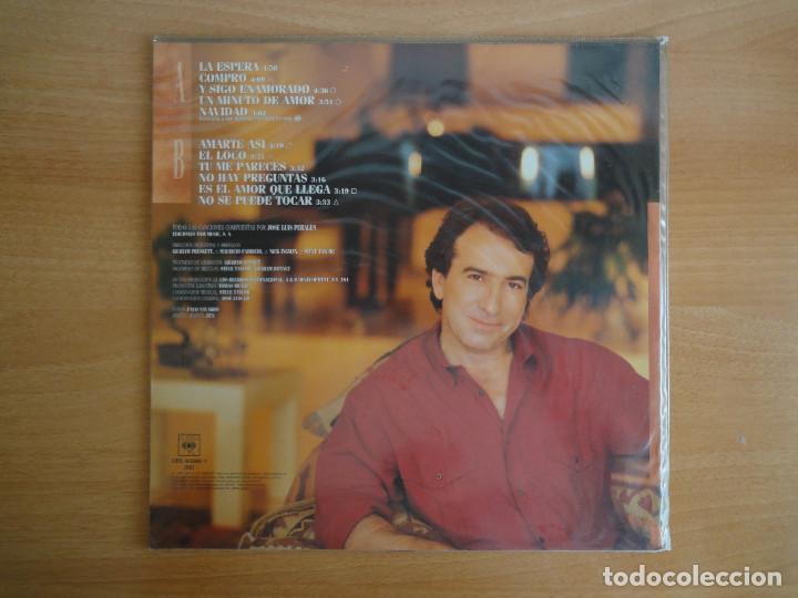 Discos de vinilo: LP Vinilo. José Luis Perales. La espera (CBS 1988) - Foto 2 - 262104025