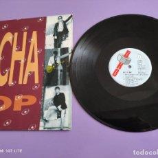Discos de vinilo: LP. ORIGINAL. NACHA POP. ENGANCHADO A UNA SEÑAL DEL BUS. AÑO1989. SELLO DRO 4D.503.. Lote 262105205