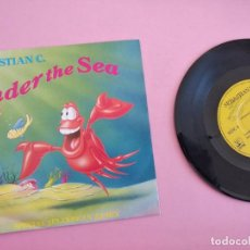 Discos de vinilo: LA SIRENITA (SN) SEBASTIAN C. – UNDER THE SEA AÑO 1989. Lote 262105565