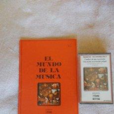 Discos de vinilo: EL MUNDO DE LA MÚSICA -CASSETTE-MODEST MUSSORGSKY -CUADROS DE UNA EXPOSICIÓN-UNA NOCHE EN EL MONTE P. Lote 262110145