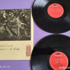 Discos de vinilo: JOYA DOBLE LP. JULIE DRISCOLL,BRIAN AUGER & THE TRINITY STREETNOISE. SPAIN.1988. POLYDOR 26 79 046.. Lote 262114310