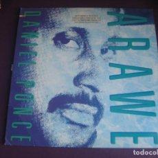 Discos de vinilo: DANIEL PONCE – ARAWE - LP NEW ANTILLES 1987 - AFROCUBA JAZZ - FUNK BACHATA - VINILO SIN USO. Lote 262115975