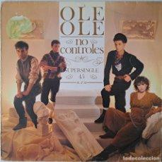 """Discos de vinilo: 12"""" MAXI SINGLE / SUPERSINGLE 1983 OLE OLE - NO CONTROLES 45RPM (CBS – CBS A 12 3135). Lote 262117045"""