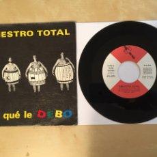 """Discos de vinilo: SINIESTRO TOTAL - DIGA QUÉ LE DEBO - SINGLE PROMO 7"""" - 1987 SPAIN. Lote 262120385"""