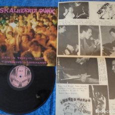Discos de vinilo: SKALHERRIA PUNK SPAIN LP 1986 KORROSKADA VIRUS DE REBELION VOMITO TXORROMORRO MUY BUEN ESTADO MIRA !. Lote 262123675