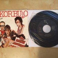"""Disques de vinyle: ESKORBUTO - RATAS EN VIZCAYA - SINGLE PROMO 7"""" - 1987 (RARÍSIMO Y MUY DIFÍCIL DE ENCONTRAR). Lote 262124160"""