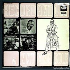 Discos de vinilo: LP DE NAT KING COLE: RECORDANDO A NAT KING COLE. CAPITOL, 1965. BUEN ESTADO.. Lote 262124520