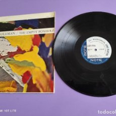 Discos de vinilo: RARO/DIFICIL. LP ORIGINAL SPAIN 1967. ORNETTE COLEMAN. THE EMPTY FOXHOLE.HBN 451 04 BLUE NOTE. Lote 262126355