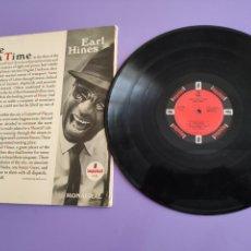 Discos de vinilo: RARO LP 1966,SPAIN EARL HINES ONCE UPON A TIME PIANO JAZZ POST BOP BIG BAND IMPULSE A-9108 MONAURAL.. Lote 262127730