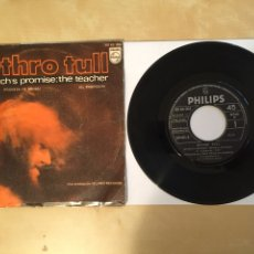 "Discos de vinilo: JETHRO TULL - WITCH'S PROMISE THE TEACHER - SINGLE 7"" - 1970 SPAIN. Lote 262127930"
