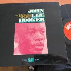 Discos de vinilo: JOHN LEE HOOKER () LP ESPAÑA 1976 (B-28). Lote 262129450