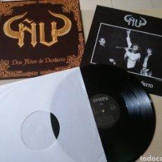 Discos de vinilo: ÑU - DOS AÑOS DE DESTIERRO. Lote 262130795