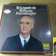 Discos de vinilo: EL LEGADO DE WILHELM FURTWANGLER (BOX 10 LP). Lote 262130860