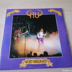 Discos de vinilo: ÑU - NO HAY NINGÚN LOCO - DOBLE LP EN VIVO. 7,8,11-86 CANCILLER. Lote 262131335