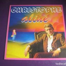 Discos de vinilo: CHRISTOPHE – ALINE - LP EPIC 1980 RECOPILATORIO EXITOS - CHANSON FRANCIA 60'S - SIN ESTRENAR. Lote 262132200