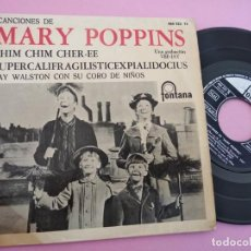 Dischi in vinile: THE JETS / RAY WALSTON THUNDERBALL / MARY POPPINS EP SPAIN 1966. Lote 262134740