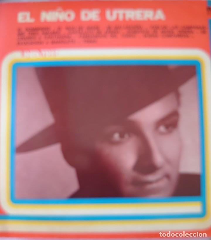 EL NIÑO DE UTRERA LP SELLO RCA EDITADO EN ARGENTINA AÑO 1979... (Música - Discos - LP Vinilo - Flamenco, Canción española y Cuplé)