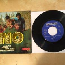 """Discos de vinilo: LOS NO - MOSCOVIT +3 TEMAS - SINGLE EP 7"""" - 1966 SPAIN. Lote 262137315"""